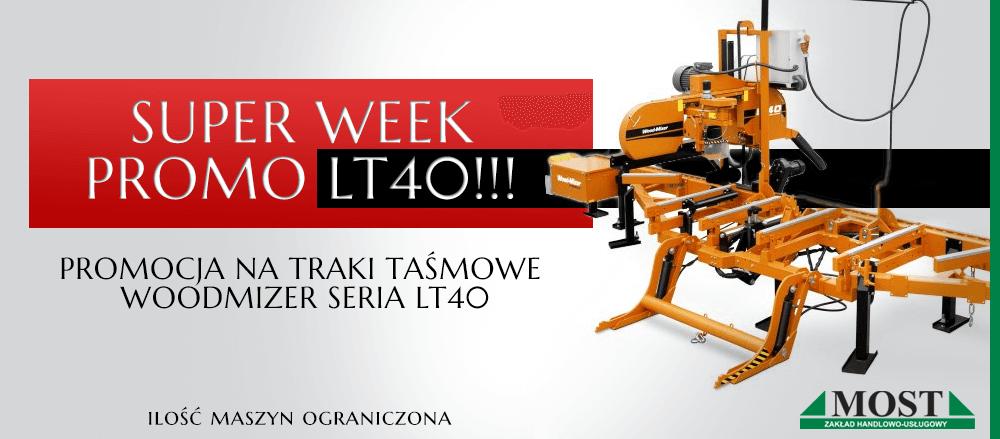 Promocja na Traki Taśmowe WoodMizer seria LT40